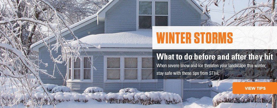 Winter Storm Tips